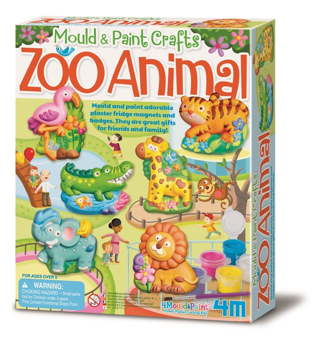 4m Mould Paint Zoo Kit Toy At Mighty Ape Australia