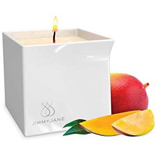 JimmyJane Afterglow Massage Candle Mystic Mango