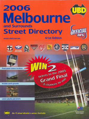UBD Melbourne Street Directory by Ubd image