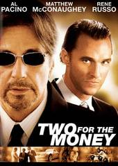 Two For The Money on DVD