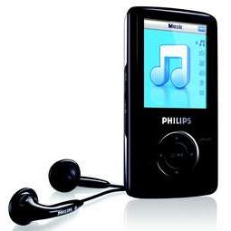 Philips SA3115 1Gb Portable Video MP3 Player image