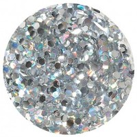 Orly Color Blast Chunky Glitter Nail Color - Silver Holo (11ml) image