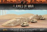 Flames of War - Desert Escarpments (2pc)