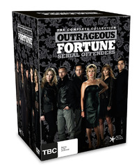 Outrageous Fortune: Serial Offenders - The Complete Collection: Series 1 - 6 (24 Disc Box Set plus Bonus Disc) on DVD image
