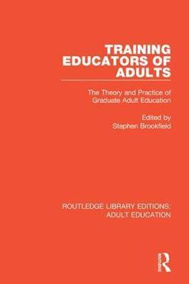 Training Educators of Adults
