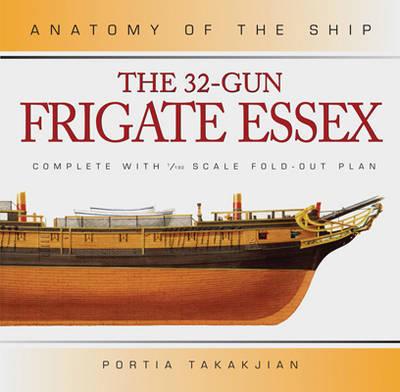 32 GUN FRIGATE ESSEX (ANATOMY SHIP)