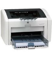 Hewlett-Packard HP LaserJet 1022 Printer 19ppm/18ppm A4 Bl & W laser print w/ 250 sh. input capacity: 1200 dpi: 8 MB RAM: host-b