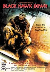 Black Hawk Down on DVD