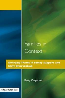 Families in Context by Barry Carpenter image