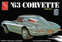 1/25 Chevy Corvette (1963) Model Kit