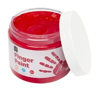 EC Colours - 250ml Finger Paint - Red