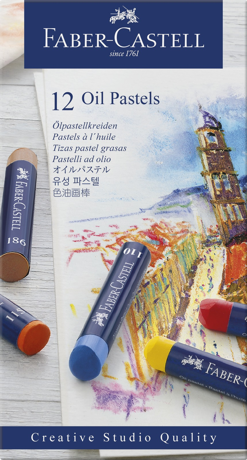 Faber-Casell: Creative Studio Oil Pastel (Set of 12) image