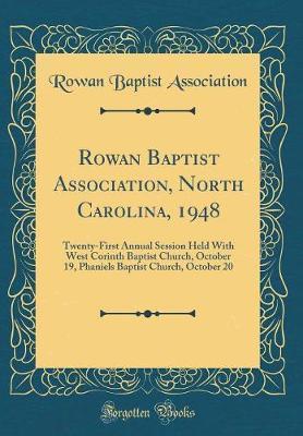 Rowan Baptist Association, North Carolina, 1948 by Rowan Baptist Association image