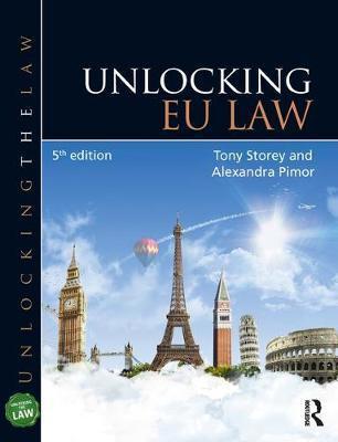 Unlocking EU Law by Tony Storey image