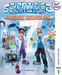 Scientifica: Year 7: Assessment Resource Bank (loose Leaf and CD-ROM) by David McMonagle image