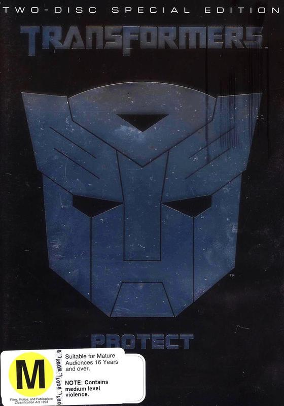Transformers Special Edition (2 Disc Set) (New Packaging) on DVD