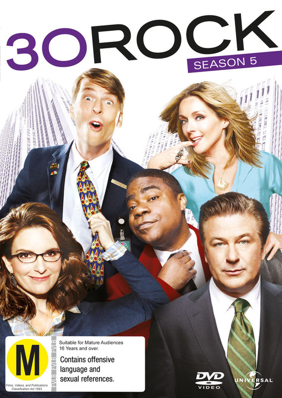30 Rock: Season 5 on DVD