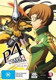 Persona 4 - The Animation Collection 2 (Eps 13-26) on DVD