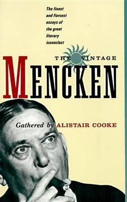 Vintage Mencken by H.L. Mencken