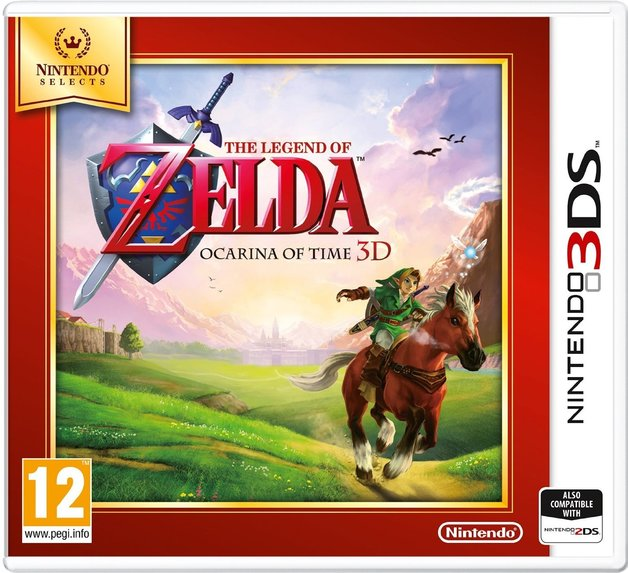 Legend of Zelda: Ocarina of Time 3D (Selects) for Nintendo 3DS