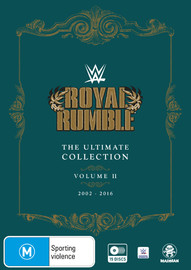 WWE: Royal Rumble Ultimate Collection - Volume 2 (2002-2016) on DVD
