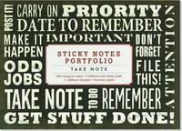 Sticky Notes Portfolio: Take Note (660 Notes)