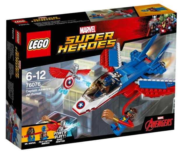 LEGO Super Heroes: Captain America Jet Pursuit (76076)