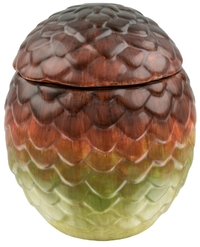 Game of Thrones: Drogon Dragon Egg Ceramic Jar (Red)