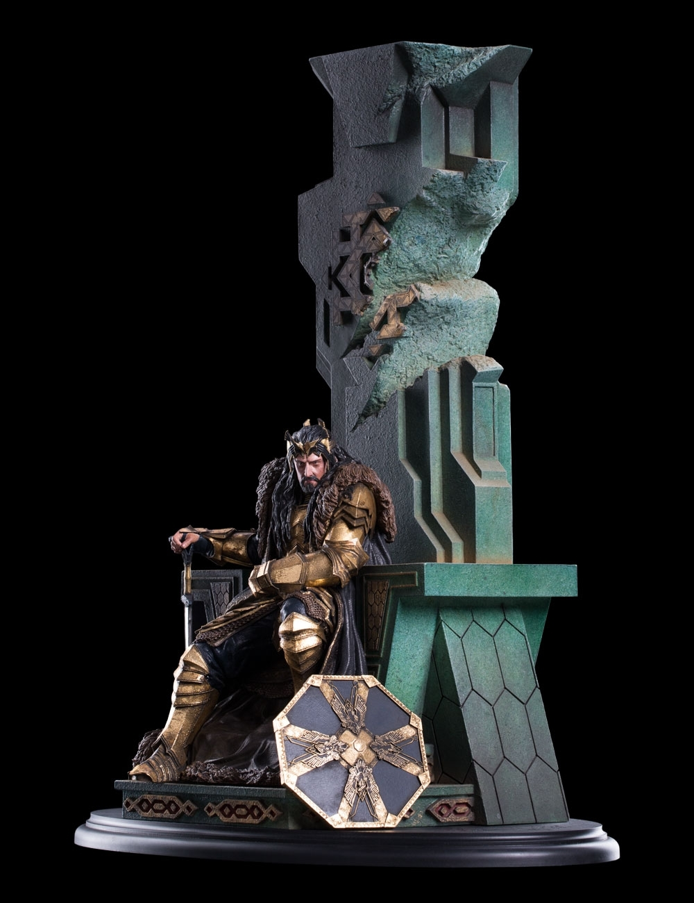 The Hobbit: King Thorin on Throne image