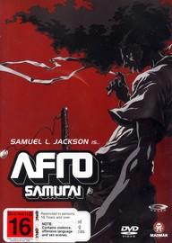 Afro Samurai on DVD image