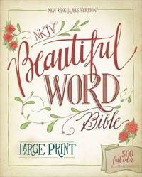 NKJV, Beautiful Word Bible, Large Print, Leathersoft, Teal, Red Letter Edition by Zondervan