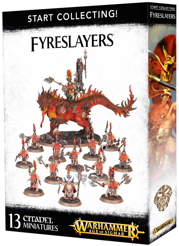 Warhammer Age of Sigmar: Start Collecting! Fyreslayers