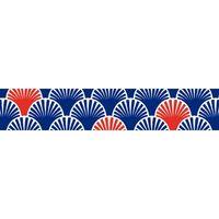 maste: Washi Tape - Navy Fans