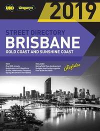 Brisbane Refidex Street Directory 2019 63rd ed by UBD / Gregory's