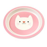Bamboo Plate - Cat