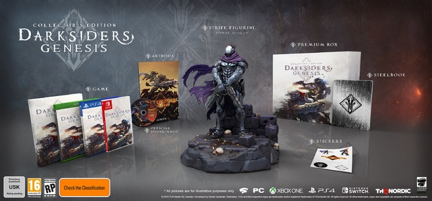 Darksiders Genesis Collector's Edition for PS4