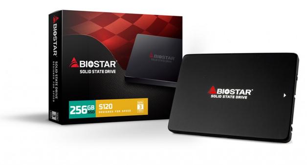 """256GB BIOSTAR S120 2.5"""" SSD"""