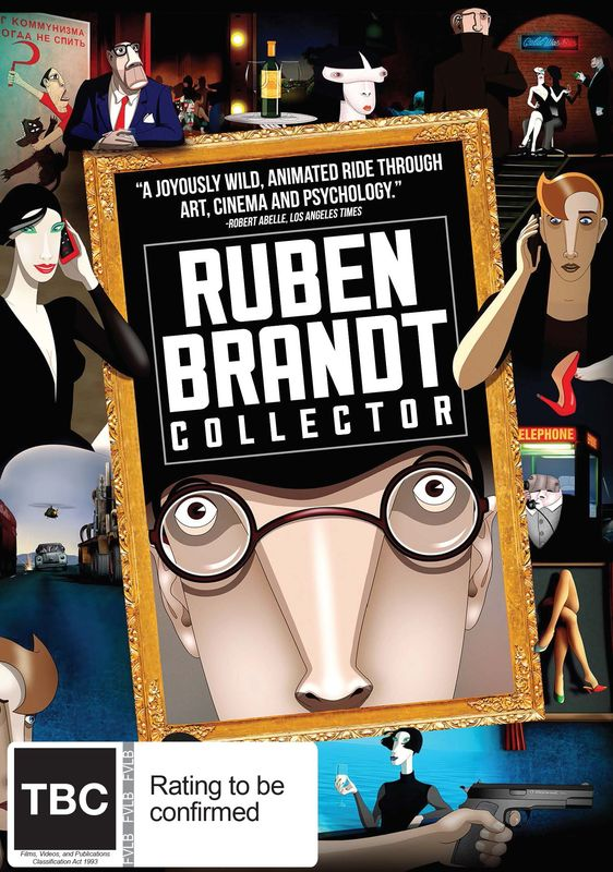 Ruben Brandt, Collector on DVD