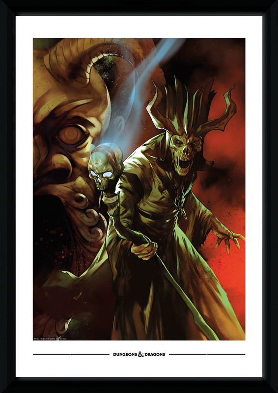 Dungeons and Dragons: Tomb of Annihilation - Collector Print (50x70cm)