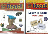 Your Baby Can Read: DVD and Word Card Blister Pack: v. 2 by Robert Titzer image