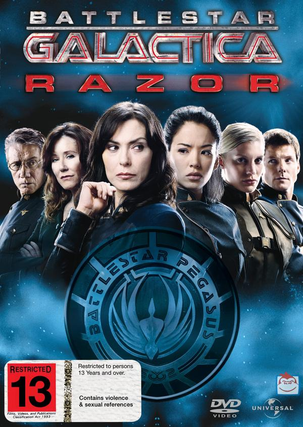 Battlestar Galactica - Razor on DVD image