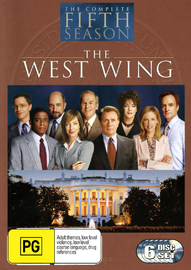 The West Wing - Complete Fifth Season  (6 Disc Box Set) on DVD image