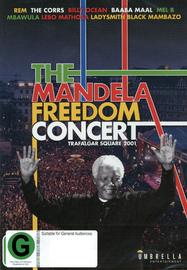 The Mandela Freedom Concert: Trafalgar Square 2001 DVD