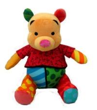 Romero Britto - Winnie The Pooh Plush