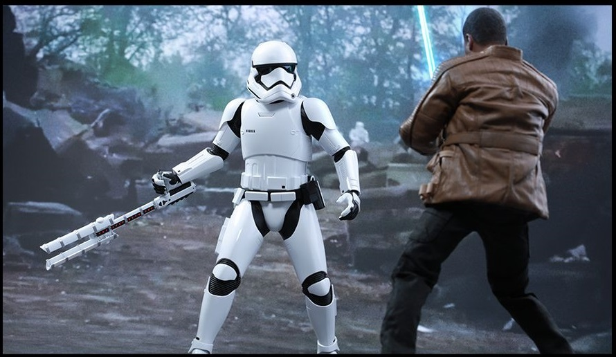 "Star Wars: The Force Awakens - 12"" Finn & First Order Riot Control Figure Set image"