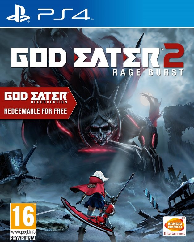 God Eater 2: Rage Burst (Includes God Eater Resurrection) for PS4