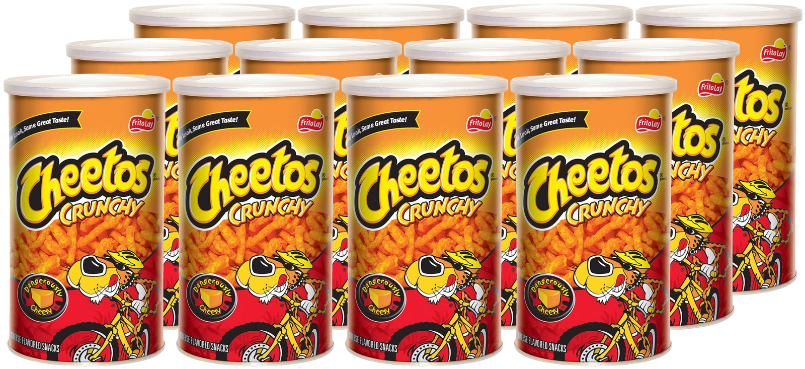 Cheetos Crunchy Cheese Snacks 120g 12pk At Mighty Ape Nz