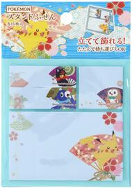 Pokemon Miyabi Series Stand Sticky Note - Maiougi