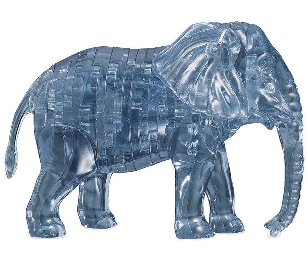 Crystal Puzzle - Elephant