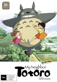 My Neighbor Totoro - 30th Anniversary Limited Edition (Blu-ray & DVD Combo With Artbook) on DVD, Blu-ray
